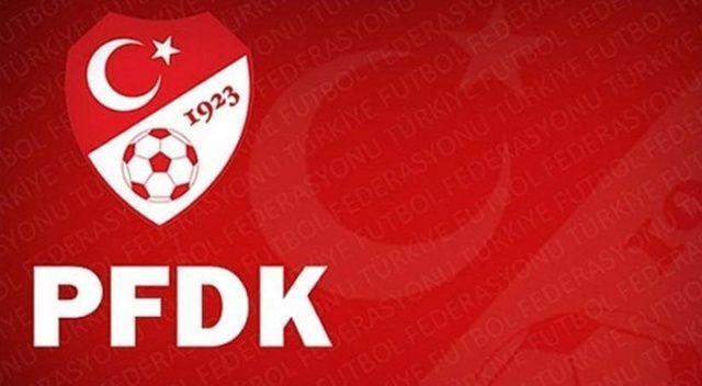 PFDK'dan bir çok kulübe para cezası