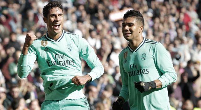 Real Madrid ligde galibiyet serisini 4 maça çıkardı