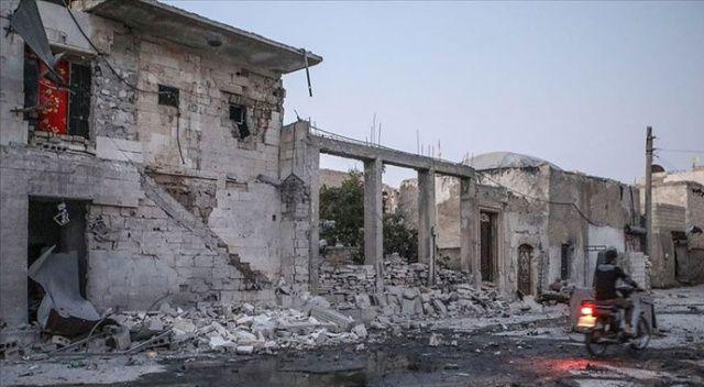Rus uçaklarından Maarşurin'e hava saldırısı: 3 ölü, 5 yaralı