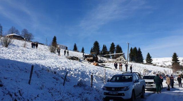Trabzon'da 160 kaçak yapının yıkımı yapıldı