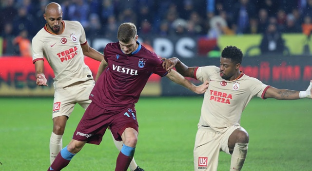 Trabzon'da puanlar paylaşıldı (Trabzonspor 1-1 Galatasaray)
