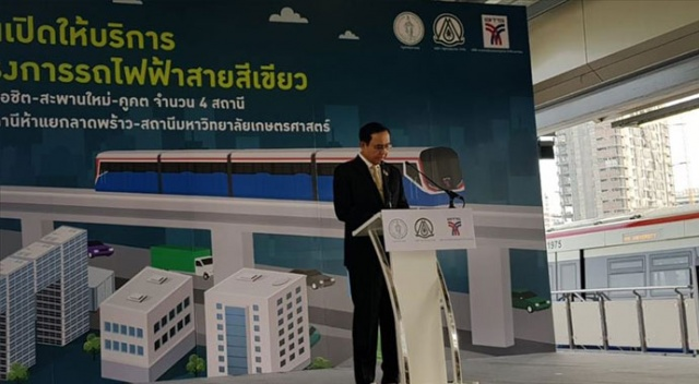 Türkiye'den Tayland'a ihraç edilen metro araçları faaliyete başladı