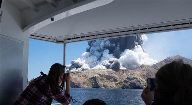 Yeni Zelanda'da Whakaari Yanardağı patladı: 1 ölü, 20 yaralı