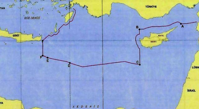 Yunanistan'ı şoke eden tarihi hamle sonrası Türkiye o haritayı paylaştı!