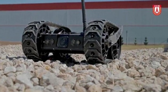 Görüntüleri az önce paylaşıldı! İşte insansız kara araçları
