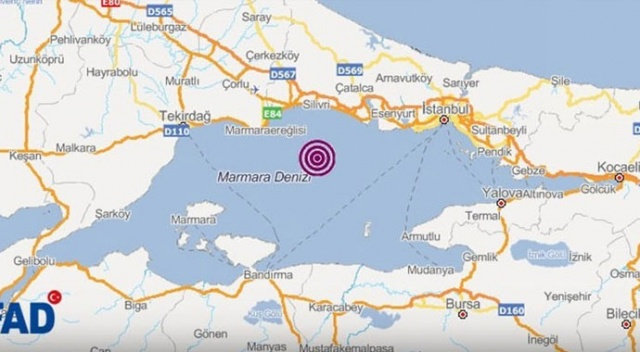 'Marmara'da beklenen deprem diğer ülkelerden de hissedilecek'