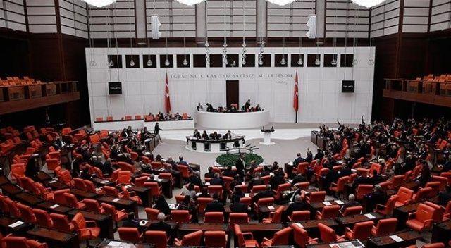 10 kanun teklifi Meclis'te kabul edildi