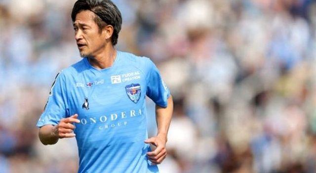 52 yaşındaki Kazuyoshi Miura, takımıyla sözleşmesini 1 yıl uzattı