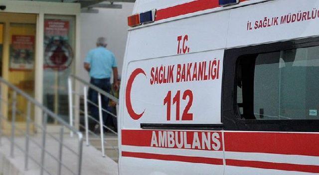 9 yaşındaki çocuk 2. kattan beton zemine düşerek ağır yaralandı