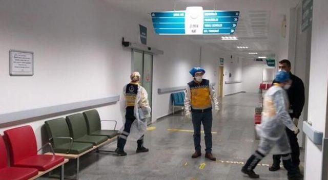 Aksaray'da korona virüsü şüphesiyle 9 Çinli turist karantina altına alındı