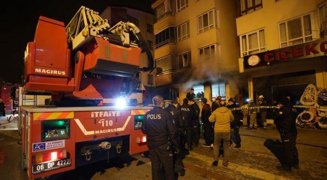 Ankara'da apartman yangını! 4 kişi hayatını kaybetti