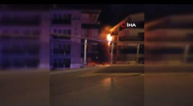 Ankara'da ev yangını korkuttu