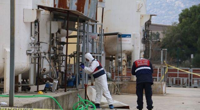 Antalya'da tahliye pompası patladı: 1 ölü