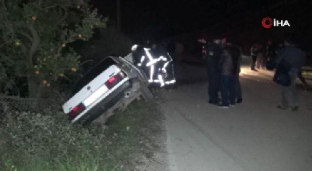 Antalya'da trafik kazası: 1 ölü, 1 yaralı