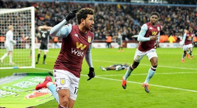 Aston Villa, eski Kasımpaşalı Trezeguet'in golüyle finalde