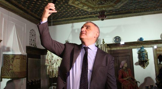 """Bakan Ersoy: """"Müzede Selfie dünya için yapılmış çok önemli bir çalışma"""""""