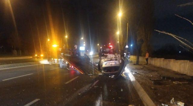 Bakırköy'de korkunç kaza! Ortalık savaş alanına döndü