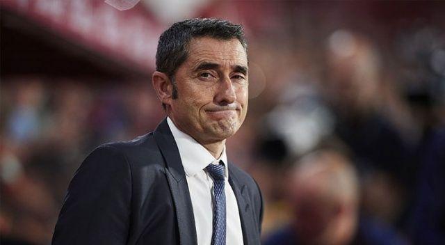Barcelona, Ernesto Valverde ile yollarını ayırdı