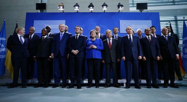 Berlin'de düzenlenen 'Libya zirvesi' sona erdi