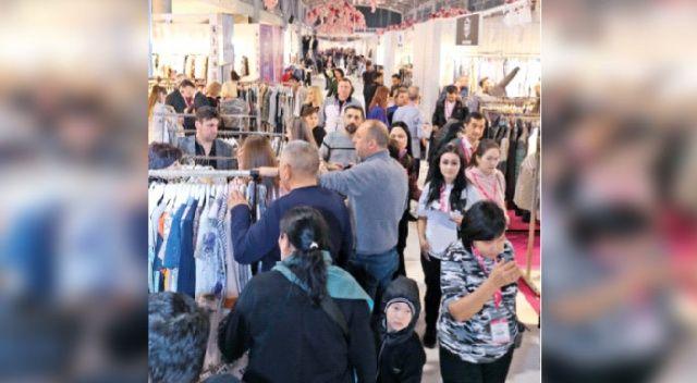 Beş bin tekstil alıcısı Uludağ'ın zirvesinde