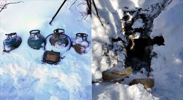 Bitlis'te teröristlerin kullandığı 11 sığınak imha edildi
