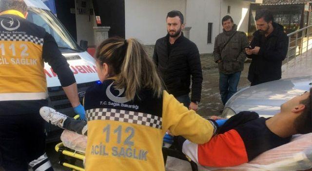 Bolu'da bıçaklı kavga: 1 yaralı