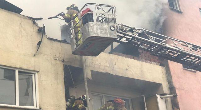 Bursa'da yangın...Yaşlı adam yanarak can verdi!