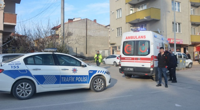 Cami çıkışı 76 yaşındaki yaşlı adama araç çarptı