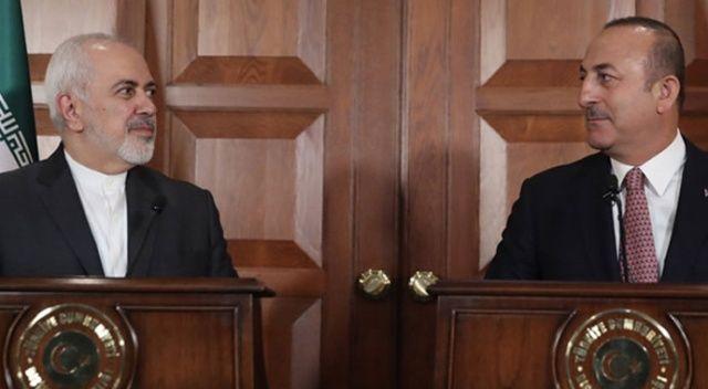 Çavuşoğlu, İran Dışişleri Bakanı Cevad Zarif ile görüştü