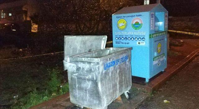 Çöp konteynerinde ceset bulundu