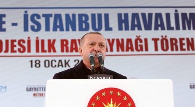 Cumhurbaşkanı Erdoğan'dan belediyelere hizmet mesajı