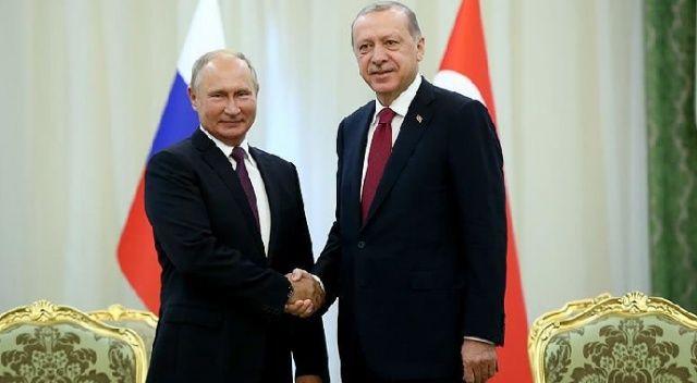 Cumhurbaşkanı Erdoğan, Putin ile telefon görüşmesi yaptı