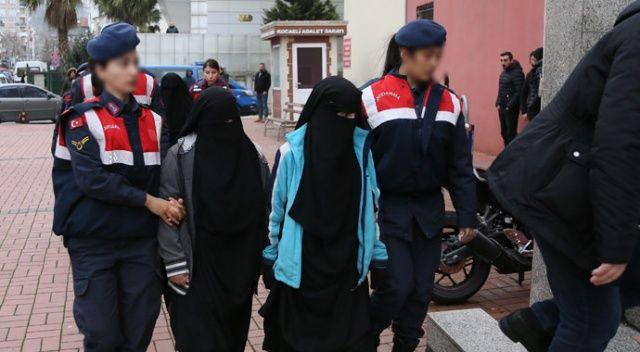 DEAŞ'ın sözde emirinin eşinin de bulunduğu 4 kadın yakalandı