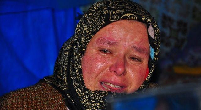 Depremi gözyaşlarıyla anlattı