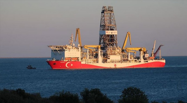 Doğu Akdeniz'deki 2. sondaj çalışmasını tamamlayan 'Yavuz' Mersin açıklarında
