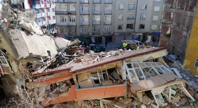 Dünya depremi  İHA'dan takip etti