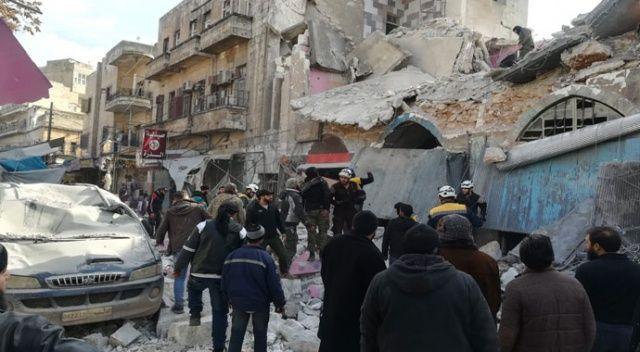 Esad rejimi İdlib'te pazar yerine saldırdı: 8 yaralı
