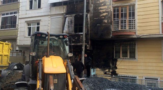 Esenyurt'ta doğalgaz borusu patladı