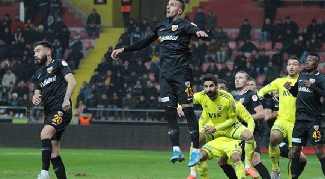 Fenerbahçe, Kayserispor ile 0-0 berabere kaldı