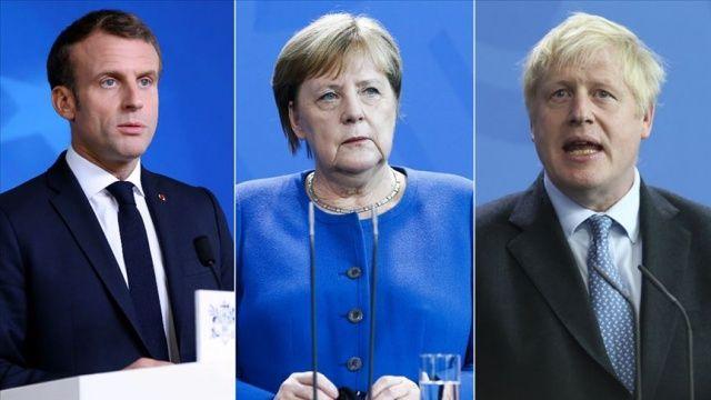 Fransa, Almanya ve İngiltere liderlerinden ortak İran açıklaması
