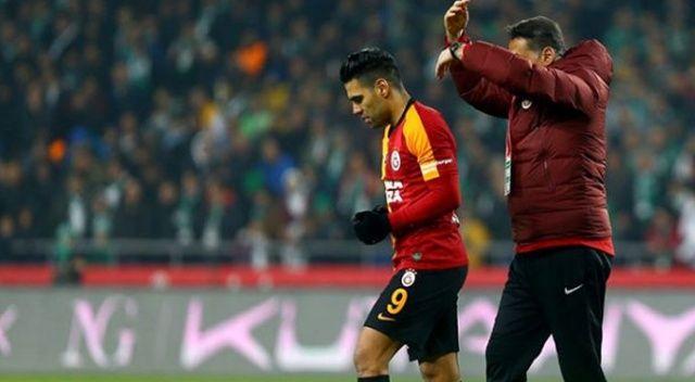 Galatasaray'dan Falcao ve Saracchi için sakatlık açıklaması