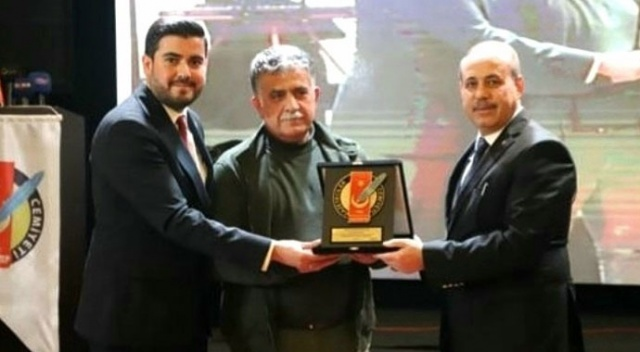 Gaziantep Gazeteciler Cemiyeti'nden İHA'ya ödül