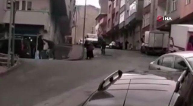 Sokak ortasında dehşet! Kadını sopayla dövdü, serbest bırakıldı