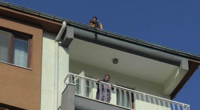 Genç kızın intihar girişimi! Herkes ikna etmeye çalıştı, son katta oturan kadın umursamadı