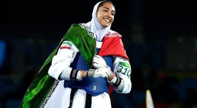İran'ın olimpiyatlarda madalya kazanan tek kadın sporcusu ülkesini terk etti