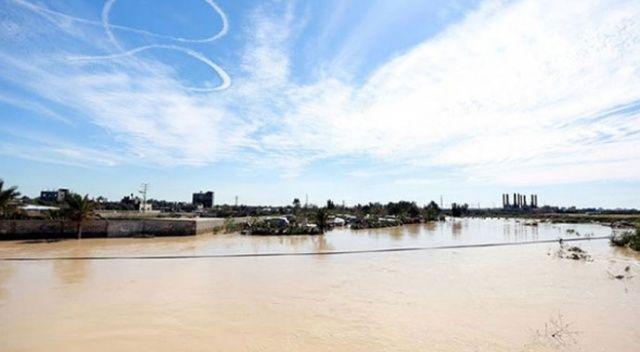 İsrail, baraj kapaklarını açarak Gazze'de yarım milyon dolarlık hasara neden oldu