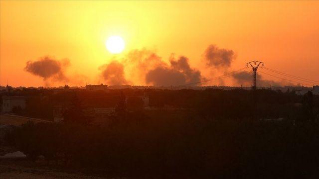 İsrail'in Suriye'de rejimin askeri noktasına saldırdığı iddia edildi