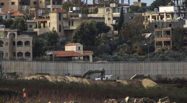 İsrail, Lübnan sınırına tünel kazılmasını önlemek amacıyla sensör yerleştiriyor