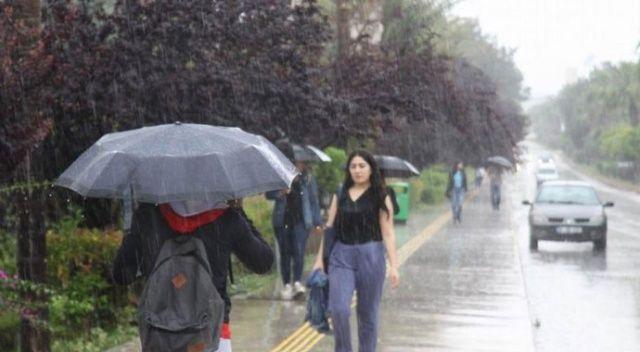 İstanbul'da güneş yerini yağmura bırakacak