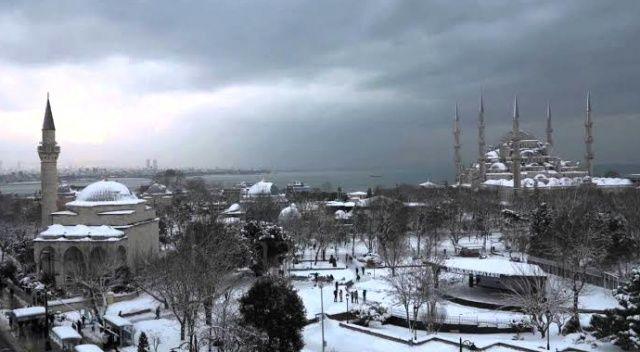 İstanbul'da kış yeni başlıyor